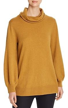 Eileen Fisher Merino Wool Cowl-Neck Sweater - 100% Exclusive