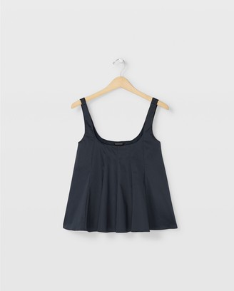 Club Monaco Wide Neck Tank