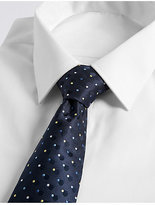 M&S Collection Circle Spotted Tie