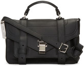 Proenza Schouler Black Tiny PS1+ Satchel
