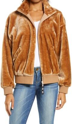 UGG Laken Mock Neck Fleece Jacket