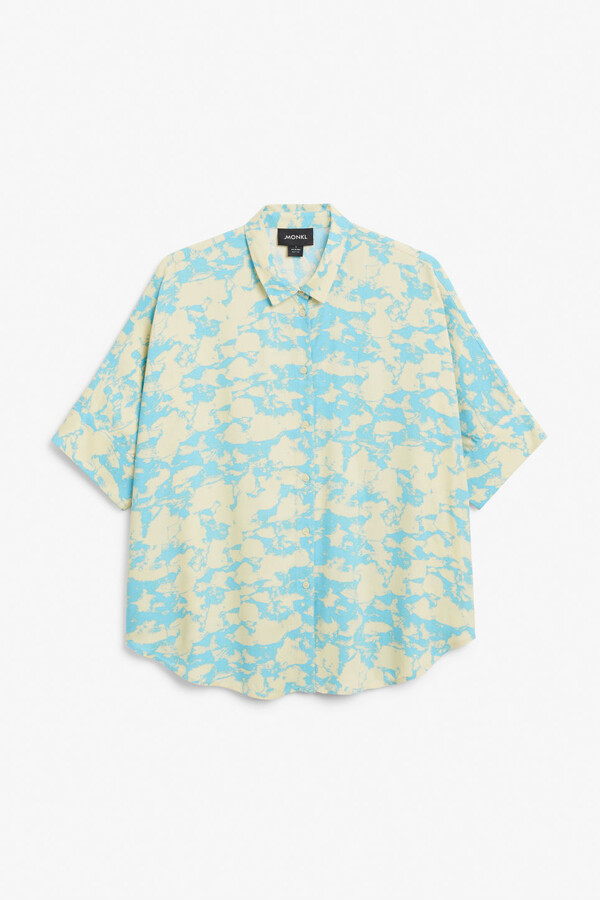Thumbnail for your product : Monki Boxy cut shirt