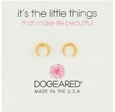 Dogeared It's The Little Things: Crescent Earrings Earring