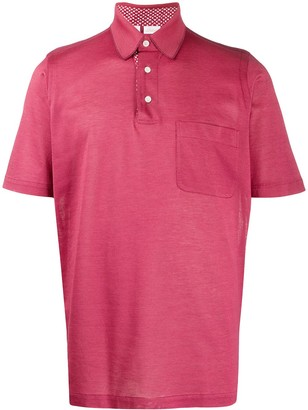 Brioni Short-Sleeved Polo Shirt