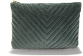 La Redoute La Cotton Velvet Toilet Bag or Purse
