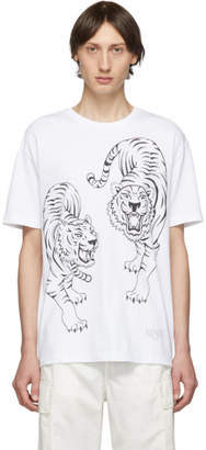 Kenzo White Double Tiger T-Shirt