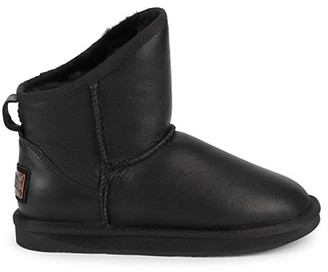 Australia Luxe Collective Cosy Shearling Leather Ankle Boots