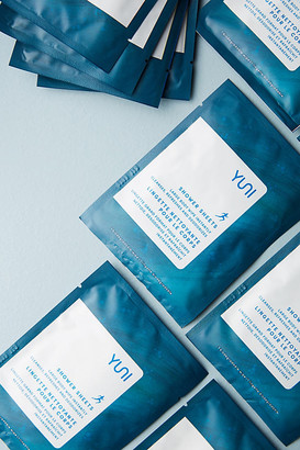 Yuni Shower Sheets By in Blue Size ALL