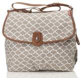 Babymel Infant Satchel Wave Fawn Diaper Bag - Beige