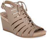 Giani Bernini Carisaa Ghillie Wedge Sandals, Only At Macy's