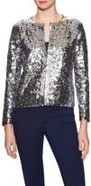 Cynthia Rowley Women's Cotton Sequin Cardigan