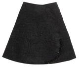 Simone Rocha Embellished Chenille Skirt