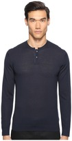 The Kooples Lightweight Merino Henley Men's Sweater