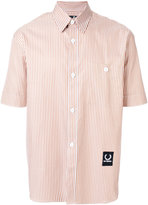 Fred Perry striped boxy shirt