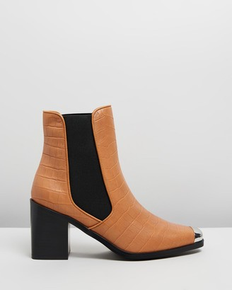 Senso Women's Brown Heeled Boots - Hero I - Size One Size, 37 at The Iconic