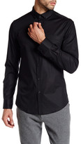Kenneth Cole New York Solid Button Up Shirt