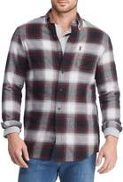 Chaps Flannel Plaid Performance Sports Shirt
