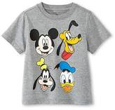 Mickey Mouse Disney®; Toddler Boys' T-Shirt - Grey