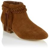Faith Plait Tassel Ankle Boots