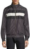 Bally Hooded Leather Blouson Jacket