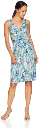 Nic+Zoe Women's Petites Mirage Twist Dress