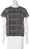 Akris Printed Short Sleeve Top