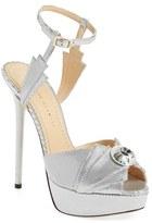 Charlotte Olympia Women's 'Sky Scraper' Ankle Strap Platform Sandal