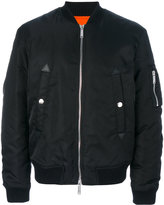 DSQUARED2 zipper bomber - men - Polyamide/Polyester/Polyurethane/Wool - 46