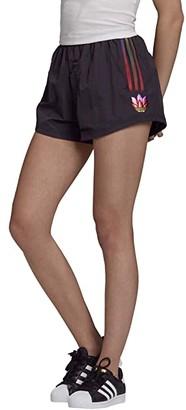 adidas Olympics Shorts (Black) Women's Shorts