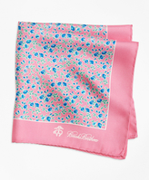Brooks Brothers Ditsy Floral Pocket Square