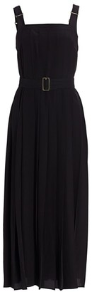 Max Mara Zadar Pleated Sleeveless Midi Dress