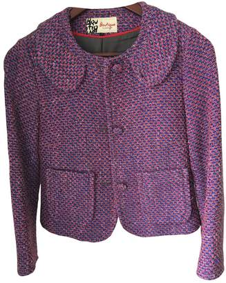 Jaeger Boutique By Purple Cotton Jacket for Women