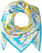 Lauren Ralph Lauren Sicily Silk Twill Scarf Scarves