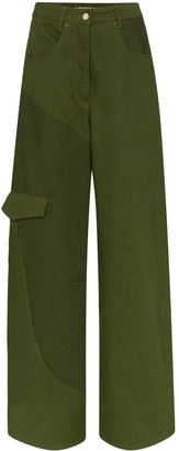 Jacquemus Panelled High Waist Jeans