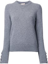 Michael Kors crew neck jumper - women - Cashmere - M
