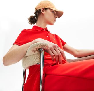 Lacoste Women's Microfiber Snap-Closure Cap