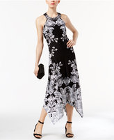 INC International Concepts Printed Beaded Dress, Only at Macy's