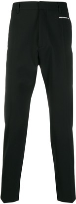 DSQUARED2 side-zip tailored trousers