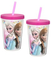 Zak Designs Frozen 13oz Double Wall Tumblers - 2pk