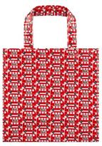 Harrods Small Red Bus Shopper Bag