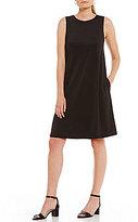 Kasper Knit Concepts Solid Swing Dress