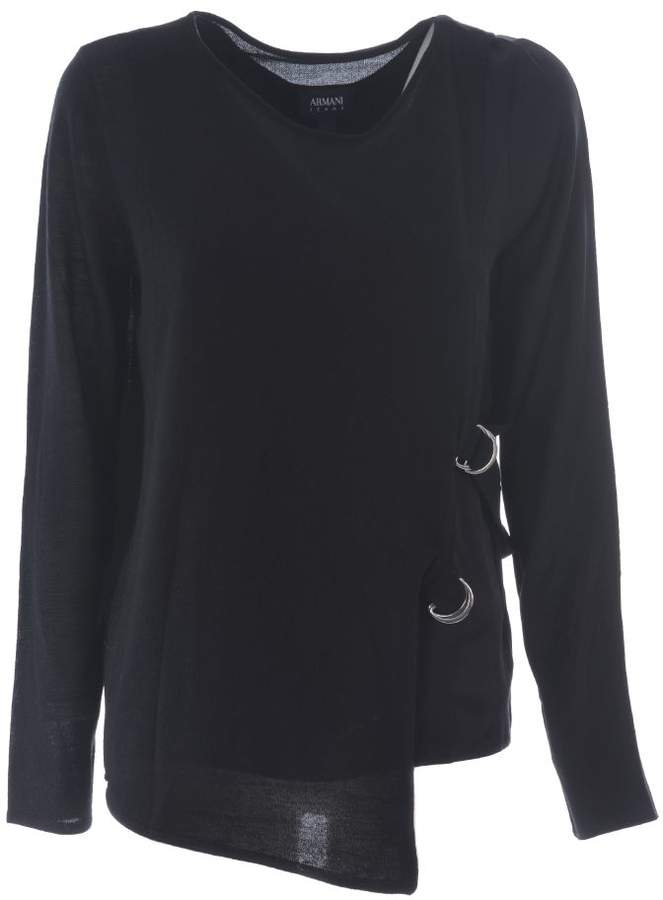 Armani Jeans Side Strap Sweater