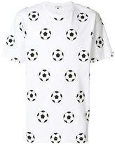 Gosha Rubchinskiy football print T-shirt