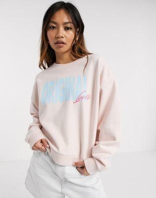 Levi's Diana original sweatshirt in pink