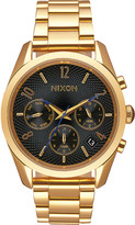 Nixon Bullet Chronograph A949-510-00 gold-toned stainless steel watch