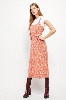 Free People Lorelai Printed Midi Dress