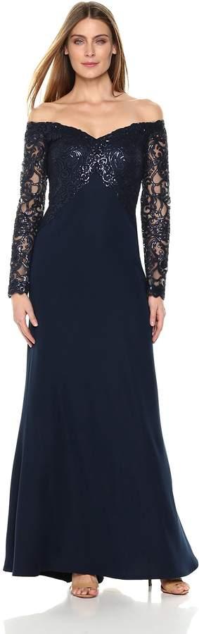e07dfdea14cbd Tadashi Shoji Blue Evening Dresses - ShopStyle Canada