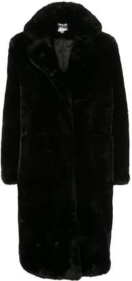 Apparis Laure oversized faux-fur coat