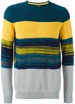 Diesel 'K-Baccanalis' striped jumper