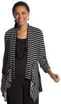 Chico's Knit Stripe Jacket